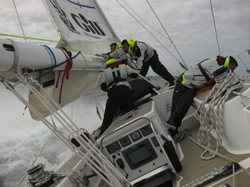 On board Discoverer
