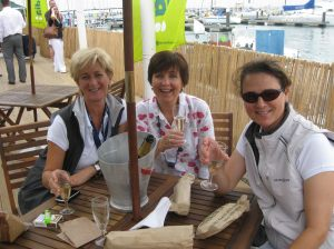 Mary, Jo and 'Mispelling' in Cowes