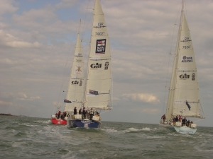 The fleet out training together on the Solent earlier this year